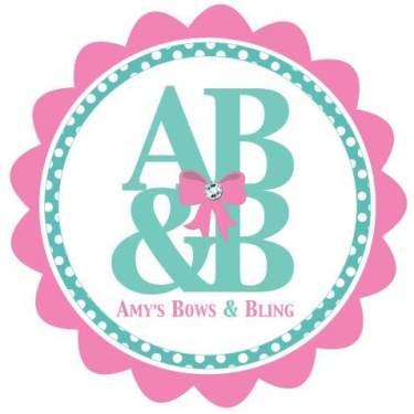 Amy's Bows & Bling Logo