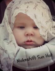 Makeshift Sunhat