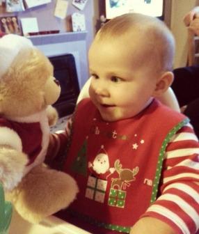 1st Christmas Bear