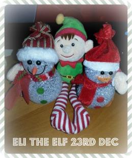 Eli The Elf 23rd Dec